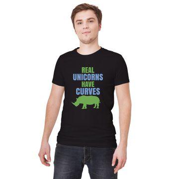 Koszulka z nosorożcem i napisem do personalizacji | 100% bawełna