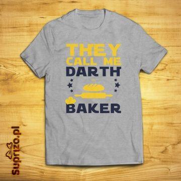 Koszulka z dowcipnym nadrukiem dla kulinarnego mistrza