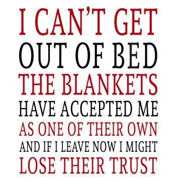 Koszulka z zabawnym nadrukiem dla lubiących spać