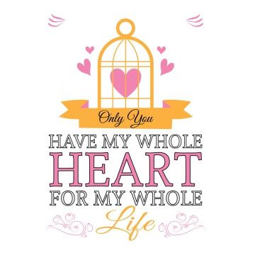 Biały kubek z sercem dla zakochanych