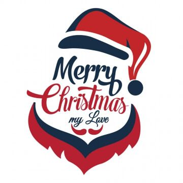 """Kubek z nadrukiem Wesołych Świąt """"Merry Christmas"""""""