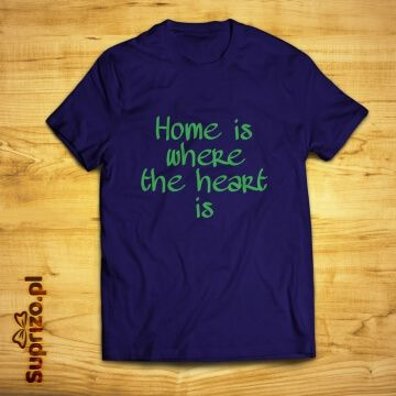 Koszulka z napisem dla domatora