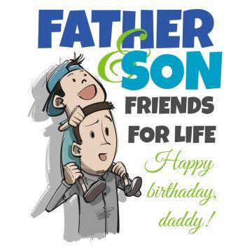 Kubek urodzinowy dla taty od syna