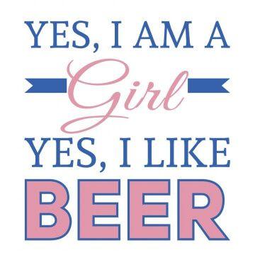 Kubek dla miłośniczki piwa z opisem
