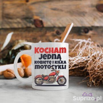 Kubek dla motocyklisty ze śmiesznym napisem