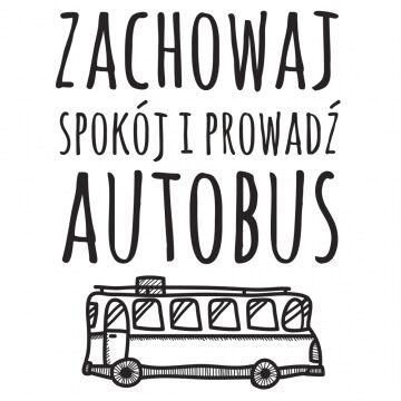 Kubek dla kierowcy autobusu