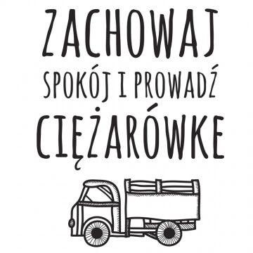 Kubek dla kierowcy ciężarówki (tira)