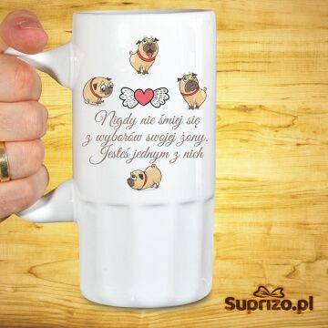 Kufel do piwa dla męża
