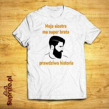 Koszulka dla brata z zabawnym opisem