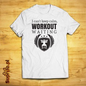 Koszulka dla fana siłowni z zabawnym nadrukiem